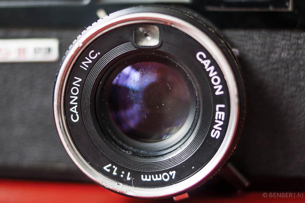 Présentation du Canonet QL17 g3