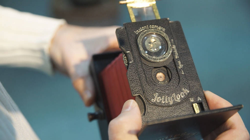 jollybook appareil photo instanté et sténopé