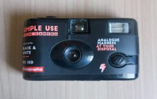 revue du lomography Simple use Film Camera