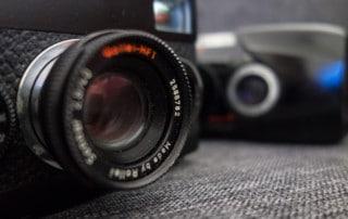 Selection appareils photo argentique compacts