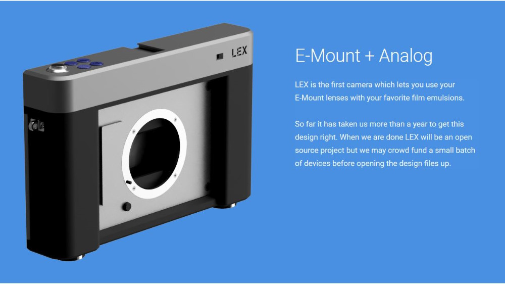 lex camera 35 mm diy