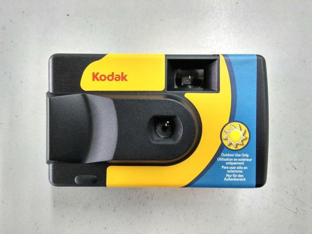kodak daylight appareil photo jetable