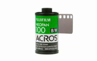 retour de la fujifilm neopan acros 100