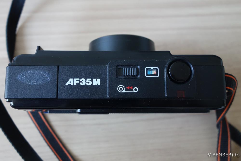 revue du canon AF35m autoboy