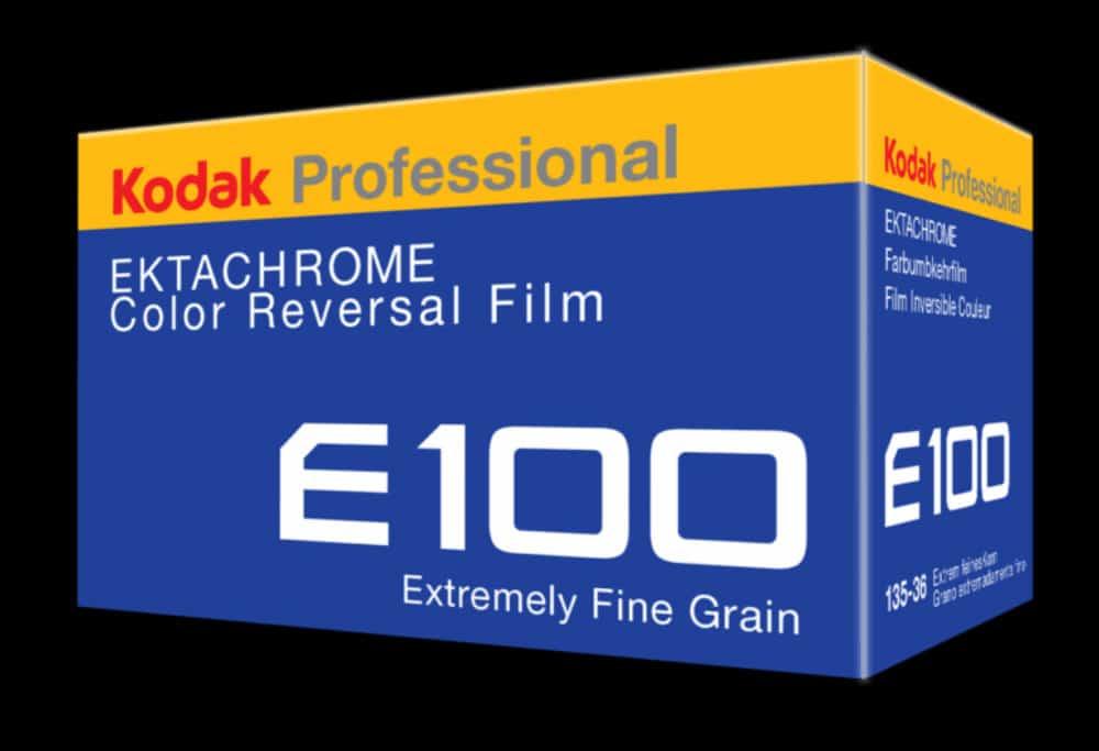 kodak ektachrome E 100