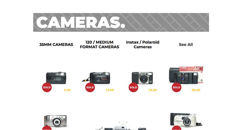 film is not dead vendeur pro photo argentique