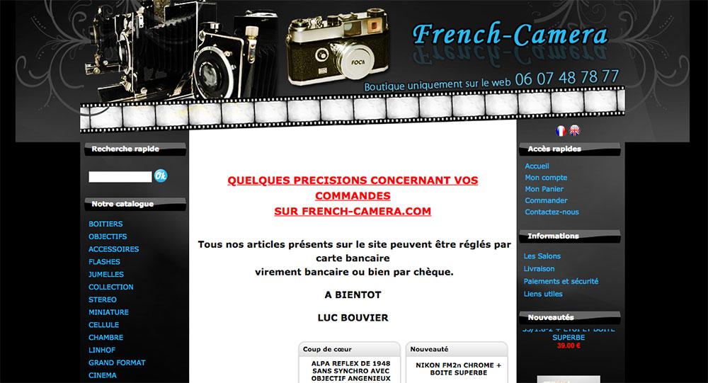 french camera vendeur pro photo argentique