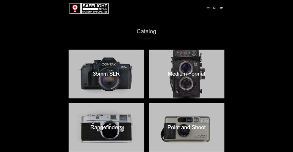 acheter appareil photo argentique vendeur pro