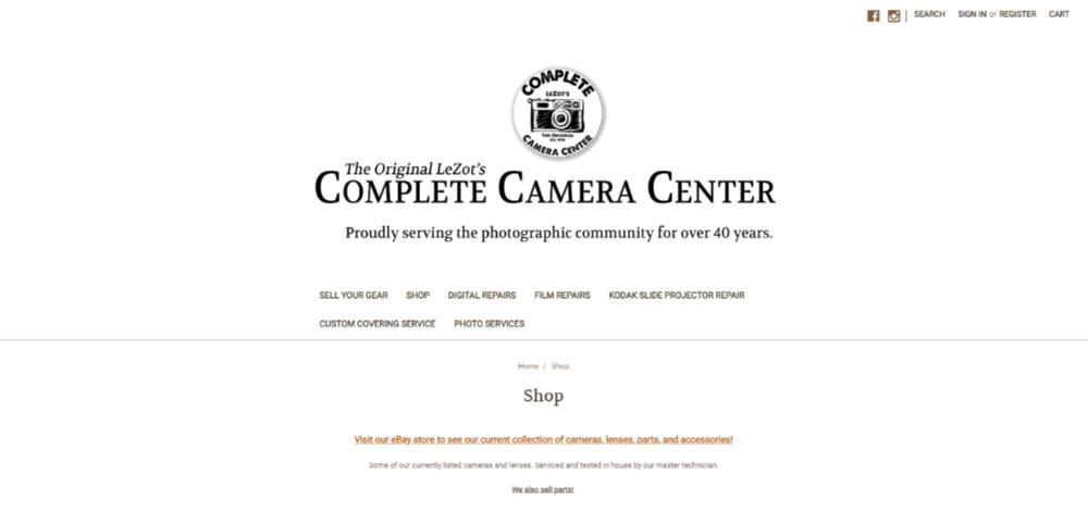 vendeur professionnel appareil photo argentique