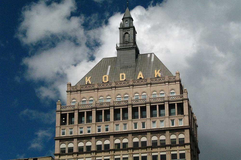 kodak vend sa filière argentique.