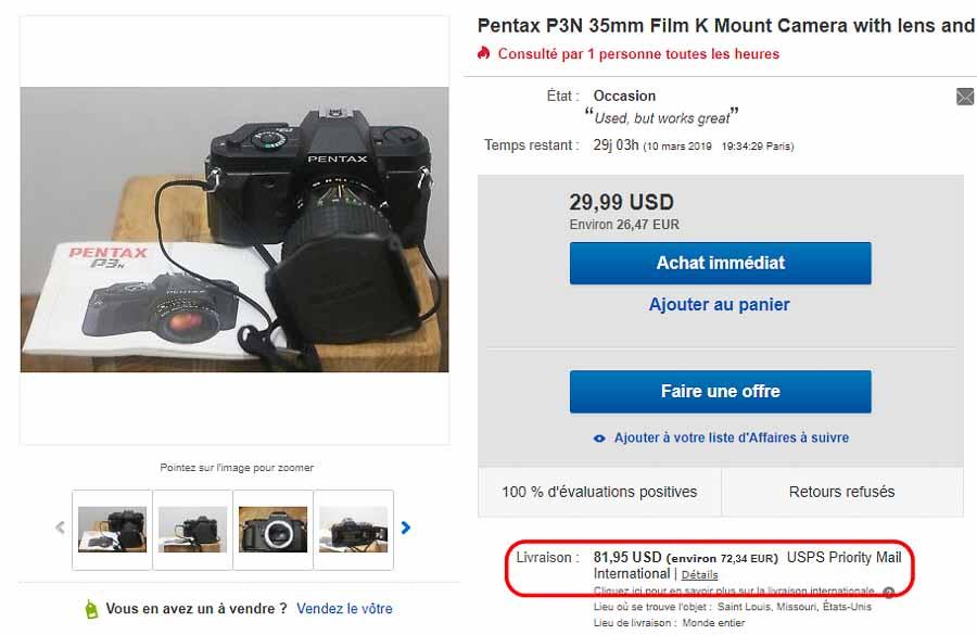 acheter ou vendre un appareil photo argentique au bon prix