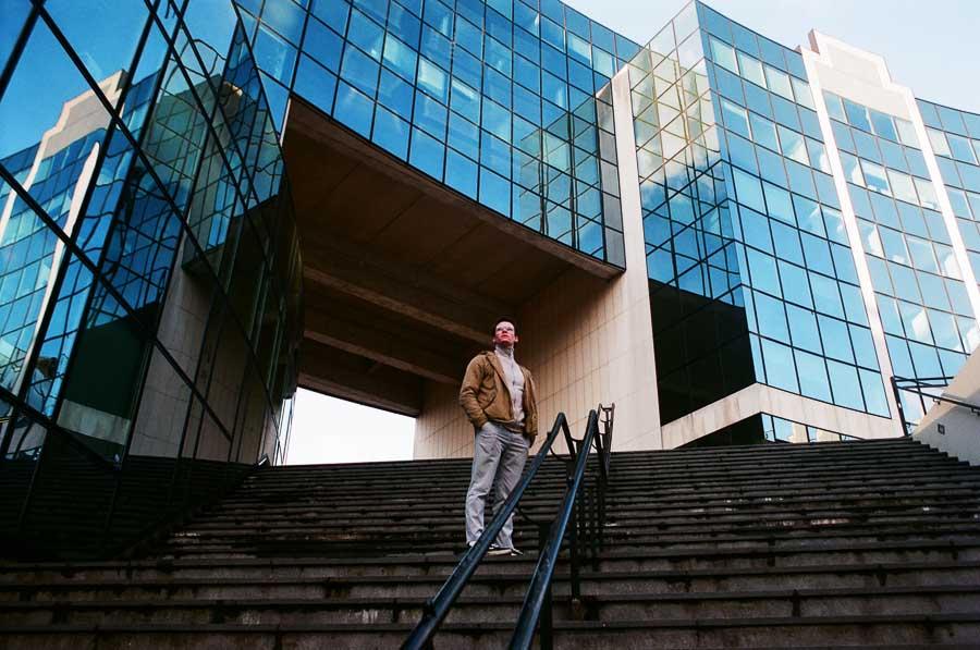 Jocelyn Hamel photographe argentique sur Lille