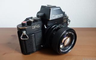 Revue du Canon new F1