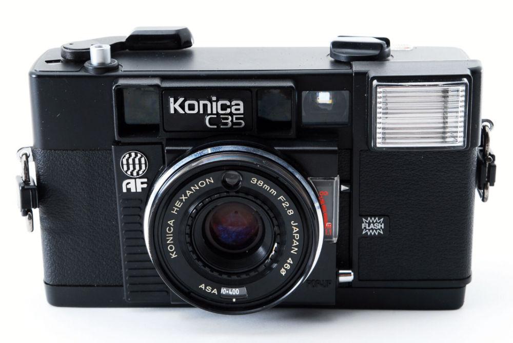 5 alternatives au nikon L35 AF, Konica C35 AF