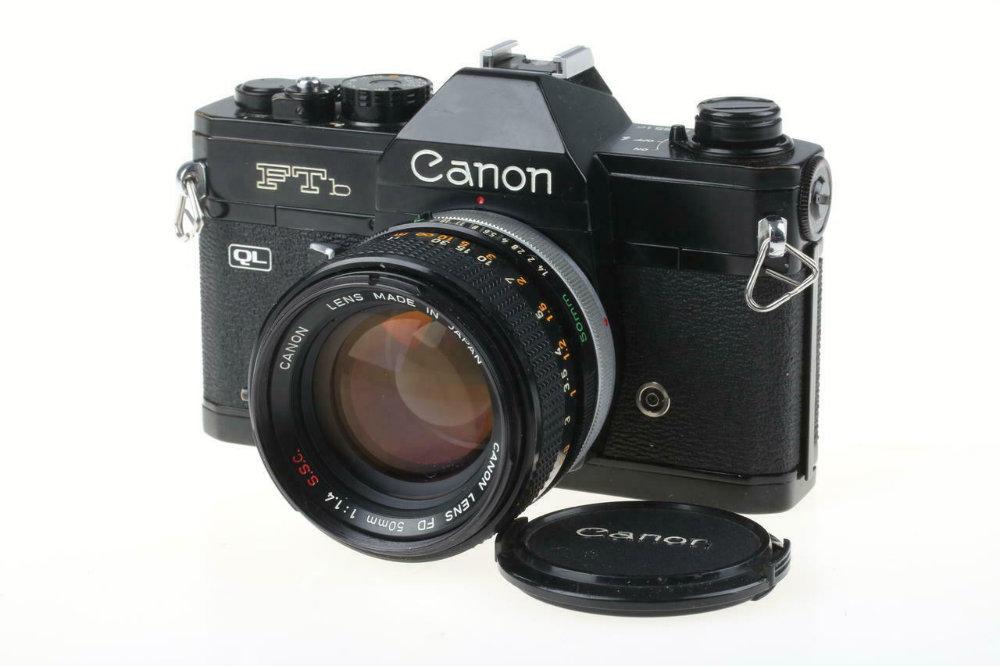 10 reflex mécaniques abordables. Canon FTb QL