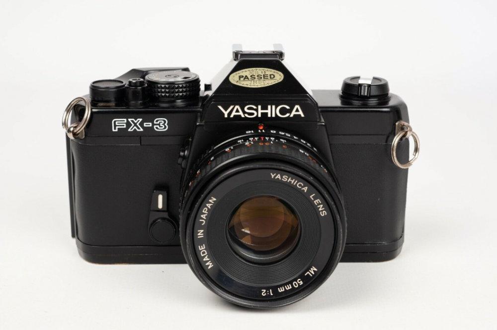 10 reflex mécaniques abordables. yashica fx3